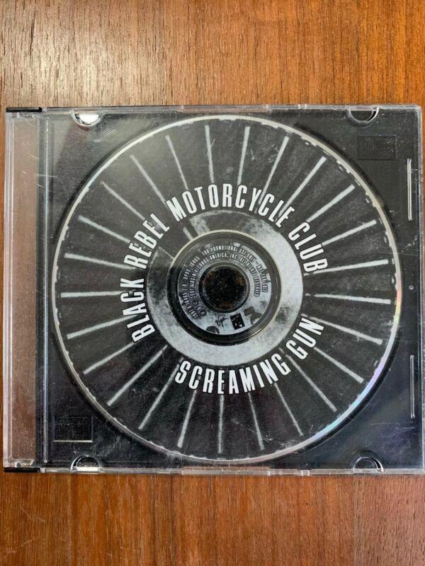 Black Rebel Motorcycle Club SCREAMING GUN promo CD 2001 Virgin promoter advance