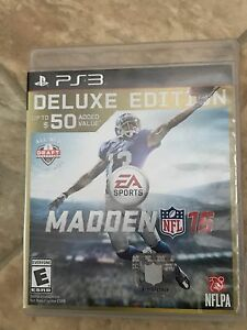 PS3 madden 16 deluxe edition