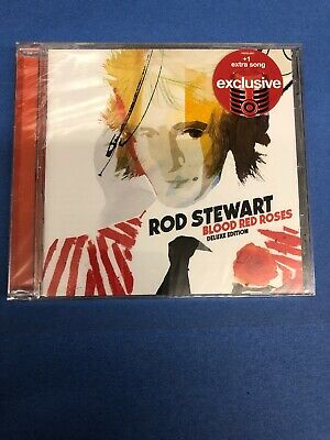 ROD STEWART Blood Red Roses LIMITED EDITION EXPANDED DELUXE TARGET Audio CD -
