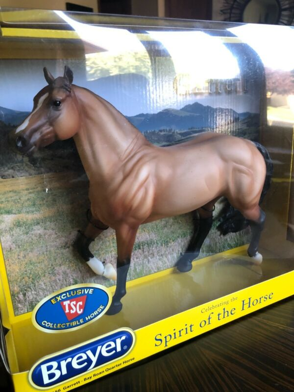 """GARRETT"" 2016 BREYER TRADITIONAL MODEL #301156 TSC EXCLUSIVE SMART CHIC OLENA"