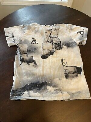 Boys Snowboarding Themed T-shirt By MOLO