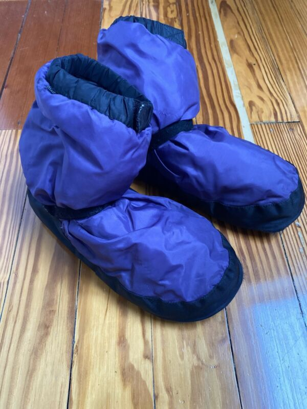 Bloch Dance Warm Up Boots Booties Irina & Max Purple Large