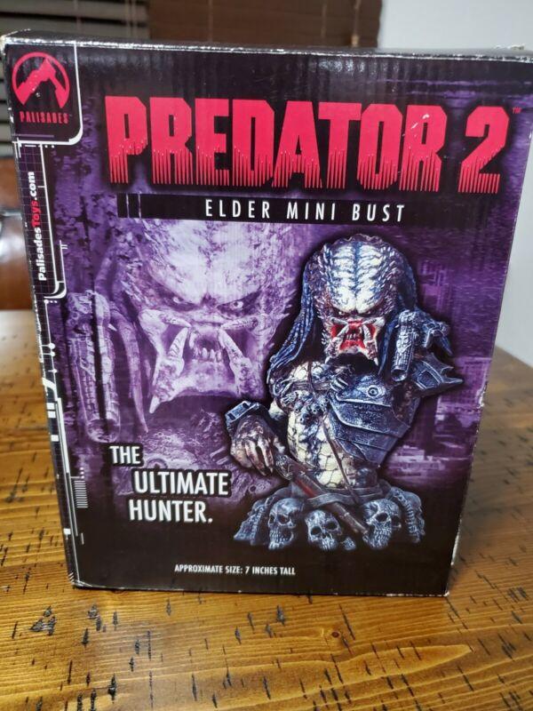 PREDATOR 2 ELDER MINI BUST 862/4000 Limited Edition By Palisades