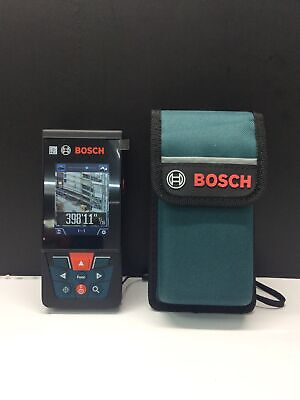 Bosch Glm400c Blaze Bluetooth Laser Measure 400ft Wcamera Viewfinder New Other