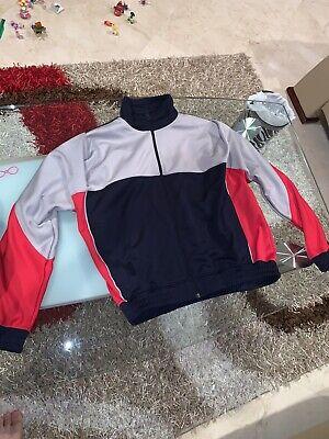 NEW Nike X Martine Rose K Track Jacket AQ4456-416 Navy, Grey & Red Size Medium
