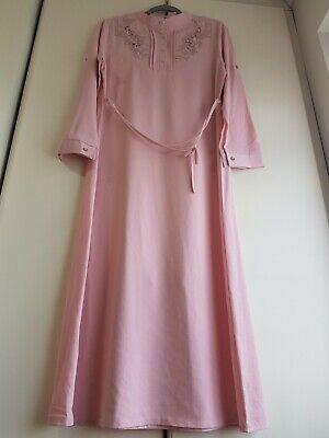 Muslim Women Long Maxi Dress Kaftan Islamic Abaya M/L size