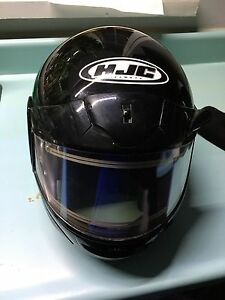 HJC helmet  XL with heat vizier
