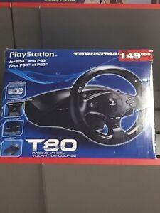 Volant et pedale PS4