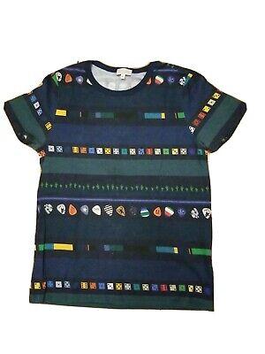 Paul Smith Junior Boys Short Sleeved T Shirt Size 10 - EUC