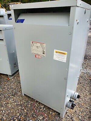 Cutler Hammer 112.5kva Electrical Transformer N48m28t12a 480-208y120 K-13