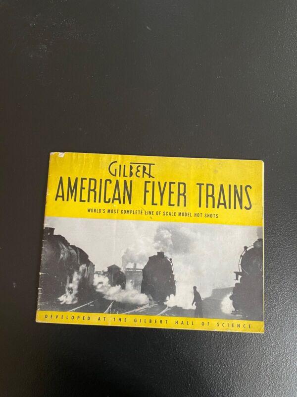 RARE Gilbert American Flyer Trains 1940 Catalog FREE SHIPPING