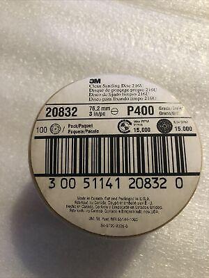 Pn 051141-20832 Clean Sanding Disc 216u 20832 3 In P400 A-weight