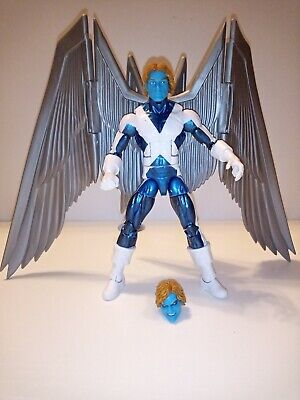 "Marvel Legends 6"" X-Men Angel Archangel Custom Action Figure Warren Worthington"