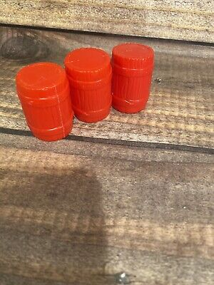 Fisher Price Great Adventures Pirate Red Barrels set of three
