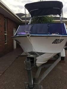 Boat Savage Runabout 4.6 m New suzuki 60 HP 75Hours