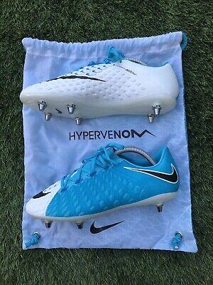 BNWOB Nike Hypervenom Phantom III SG Pro Football Boots. Size 8 UK.