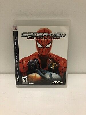 PS3 Spider-Man: Web of Shadows - Complete w/Manual - Ships Fast