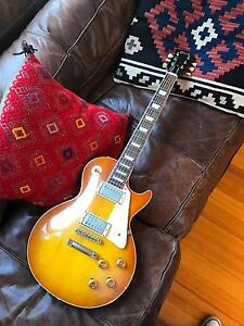 58 reissue Gibson les Paul Carlton Melbourne City Preview