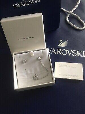 Original Genuine Swarovski Earrings Atelier Jean Paul Gaultier Range New In Box