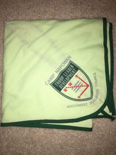 Boy Scout BSA Camp Napowan TLD Northwest Suburban Illinois Council Neckerchief