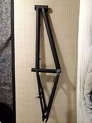 "Dialled Bikes BMX Racing Expert Frame Reynolds 853 19"" TopTube 10mm Dropouts"