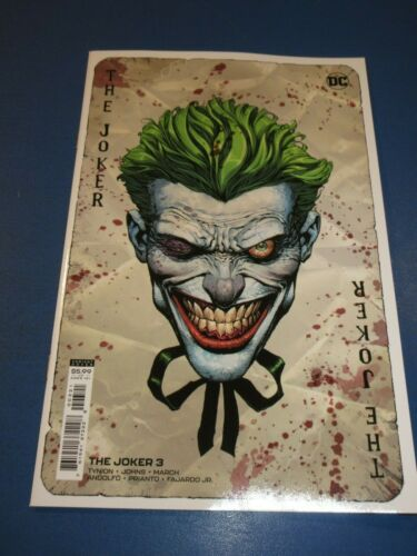 The Joker #3 Finch Variant NM Gem wow