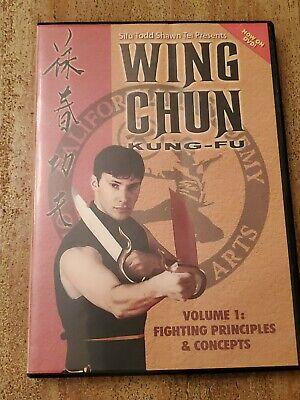 Wing Chun Kung Fu Techniques Training DVD Volume  1