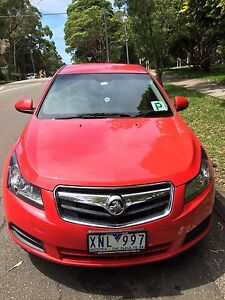 2010 Holden Cruze Sedan Artarmon Willoughby Area Preview