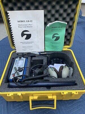 Subsurface Instruments Ld-12 Professional Water Leak Detector Tested Working