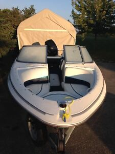 1998 Bowrider Bayliner 17' with 2005 90hp outboard