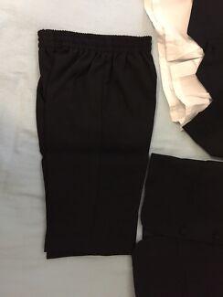 Black kids formal suit set size 5