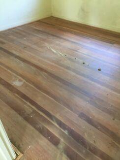 Hardwood floorboards