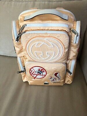 GUCCI New York Yankees Limited Edition Backpack $2400