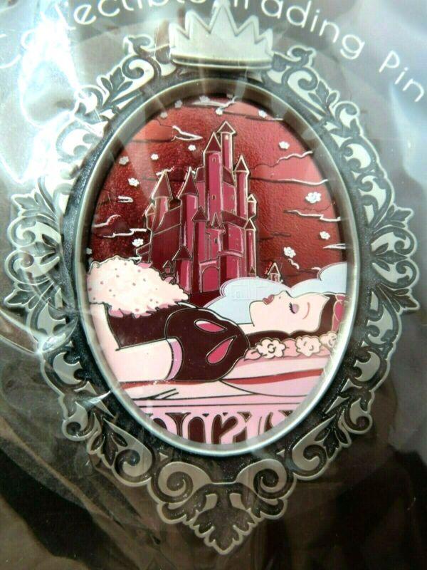 Disney Pin Artland Gothic Princess - Snow White Sleeping LE 200 #143577