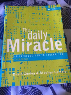 The Daily Miracle - an introduction to journalism 2006 - third edition