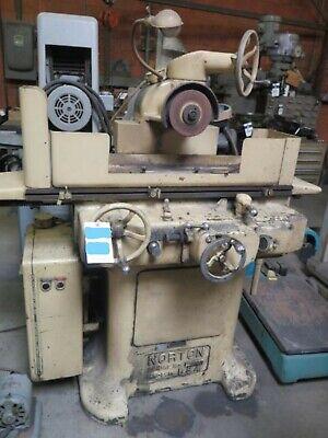 Norton 6 X 18 Automatic Surface Grinder No Mag Chuck