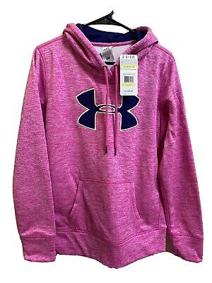 NWT Women's Under Armour Pink Hoodie - Size M