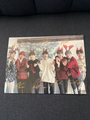 Chistmas BTS Mini Poster - $2.00