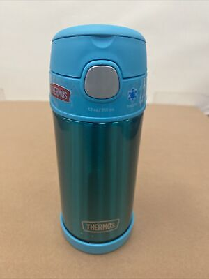 Thermos 12 Ounce Stainless Steel FUNtainer Bottle  Up-to 12 hours Cold - Teal