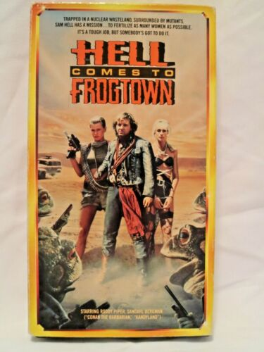 Hell Comes To Frogtown (1988) VHS, staring Roddy Piper