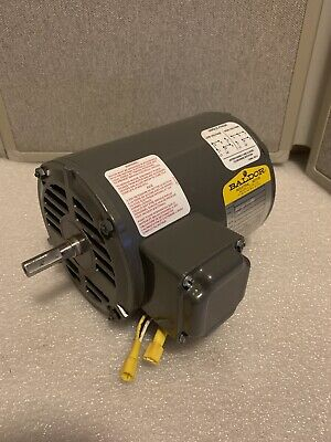 Baldor Industrial Single Phase Electric Motor 12 Hp 3450 Rpm 115208-230 V