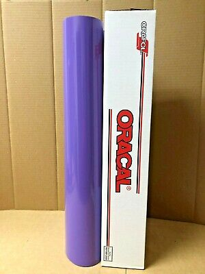 Oracal 651 1 Roll 24 X 10yd 30ft Lavender 043 Gloss Sign Vinyl