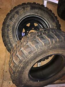 Mud tyres 265/75R-16 South Johnstone Cassowary Coast Preview