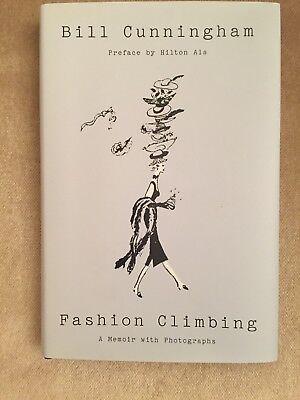 Fashion Climbing by Bill Cunningham (2018, Hardcover)