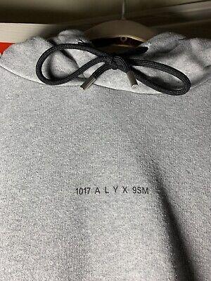 1017 Alyx 9sm Hoodie Grey
