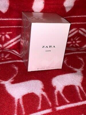 ZARA WOMAN FEMME EAU DE TOILETTE EDT FRAGRANCE SPRAY 100ml 3.4fl.Oz BNIB