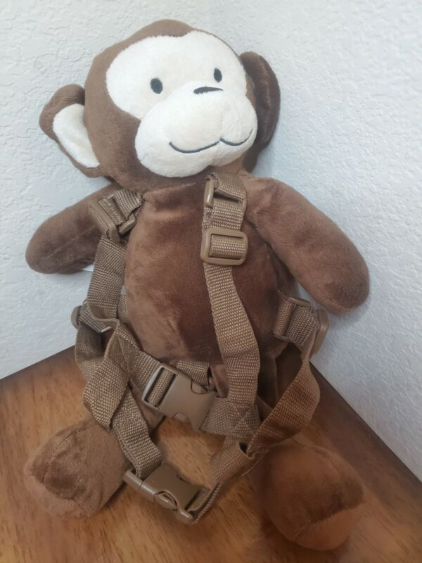 Toddler Walking Safety Harness Backpack with Child Assistant Strap Monkey