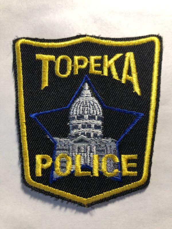 Topeka Kansas Hat Patch