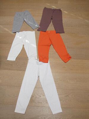 lot 5 leggings taille 140