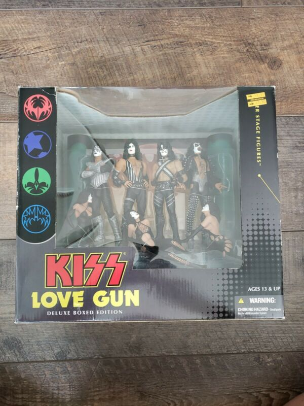 KISS Love Gun Deluxe Boxed Edition - McFarlane Toys 2004